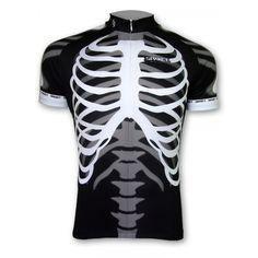 Cycling Jersey  Cycling Jersey Cycling Short Jersey-Skeleton  $46.50 @Megan Maxwell Cundiff
