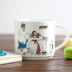 Creative 350ML Moomin Ceramic Mug  kids morning cup mug cartoon mug juice /milk/cofee mug drinkward for children free shipping-in Mugs from Home & Garden on Aliexpress.com | Alibaba Group