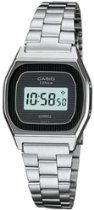 Casio Womens Silver Stainless-Steel Quartz Watch with Digital Dial Casio Vintage, Casio Watch, Quartz Watch, Stainless Steel, Digital, Silver, Wrist Watches, Plastic, Crystal