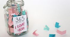 Jarra com 365 mensagens de amor ou amizade. Aprenda a fazer presentes de última hora que vão ficar na história. Um presente feito à mão expressa mais sentimento e devoção.