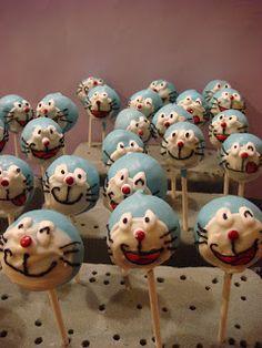 食べる、作る、遊ぶ: Doraemon Cake Pop