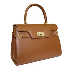 Attavanti - Fontanelli Lisetta Designer Saffiano leather Grab Handbag - Tan, £245.00 (http://www.attavanti.com/luxury-italian-leather-designer-handbags/fontanelli-lisetta-designer-saffiano-leather-grab-handbag-tan/)