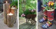 Nowości w ogrodzie: 13 pomysłów na ozdoby, które Cię zachwycą. Zrób to sam!