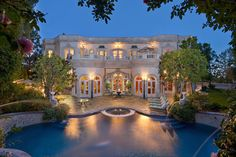Exquisite European Manor – wouldn't you just love coming home here?