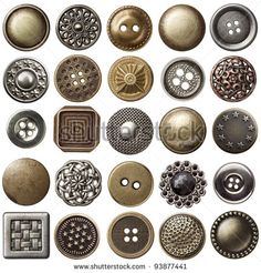 Image result for round cloth buttons