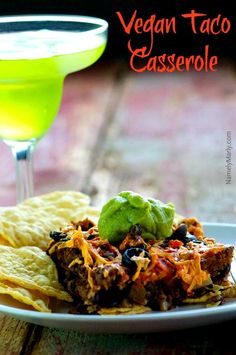 Easy Vegan Taco Casserole | Namely Marly