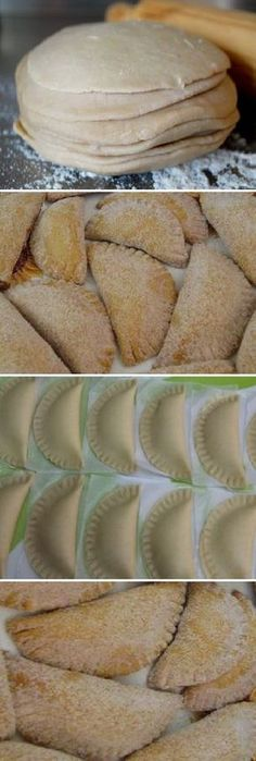 Mexican Pastries, Mexican Sweet Breads, Mexican Bread, Mexican Snacks, Real Mexican Food, Mexican Food Recipes, Pumpkin Empanadas, Empanadas Recipe, Easy Desserts