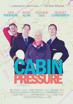 Awesome Cabin Pressure poster! #CabinPressure