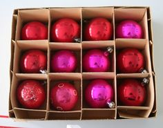 vintage ornaments from jadite kate. so pretty.. !!!!!
