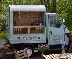 Fizz 76 - The Mobile Prosecco Van - About Us Prosecco Van, Cork Crafts, Home Remodeling, Wines, This Is Us, Bubbles, Food Trucks, Trailers, Clock