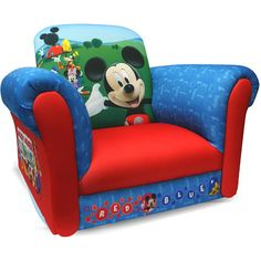 Exceptional Disney   Mickey Mouse Balloons Deluxe Rocking Chair: Toddler : Walmart.com