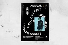 OVO Fest 2015 by Jules Tardy — The Brand Identity