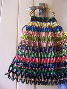 Bag made of beads