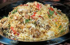 Arabic Food Recipes: Chicken Beryani Recipe