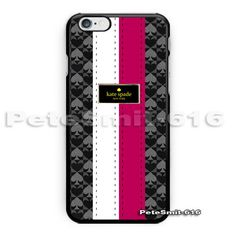 New-Best-Kate-Spade-Stripes-Pink-White-Pattern-Cool-Hadecase-For-iPhone6-6s-plus