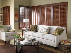 Cedar Shutter is an easy way to give fabulous touch in your modern home interior.