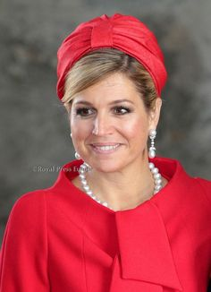 gpdhome:  Crown Princess Maxima at the christening of Princess Estelle of Sweden