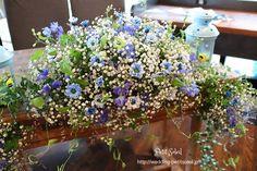 装花 かすみ草
