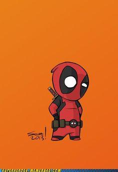 Baby Deadpool