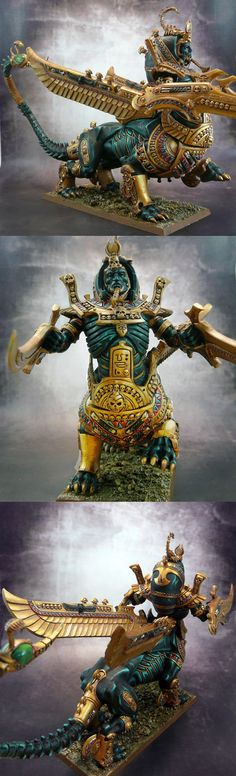 Tomb Kings Necrosphinx