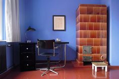 """Interior Design of the private accommodation """"Tautes Heim"""" located in the Hufeisensiedlung, Berlin-Britz"""