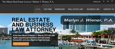 Find experienced and the finest Foreign Real Estate Investors Attorney in Florida. Mr. Marlyn J. Wiener is our top Foreign Real Estate Investors Attorney in Florida. He has over thirty years experience.
