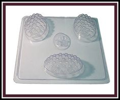 Soap Mold Quilted Massage 6oz bar. $6.20, via Etsy.