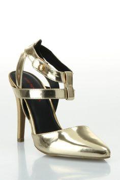 Stilettos dorados