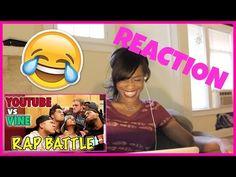 YouTube vs Vine - RAP BATTLE! #Reaction #Reactor #YouTube #YouTubevsVine #Viners