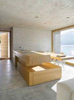Beautiful and Calm House in Brione S.M. by Wespi de Meuron Romeo Architects