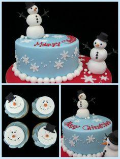 Kerst taart & cakejes