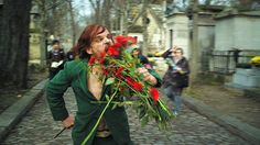 Holy Motors, Leos Carax. Coming to LA 11/16, at the Nuart. Astoundingly good reviews coming from every direction.