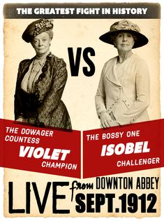 Downton Abbey. Ridiculously awesome show! And this poster is pretty awesome, too. ;)