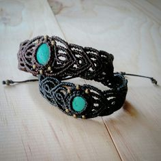 Gorgeous micro macrame tibetan turquoise cuff bracelets, made to order. Approx 3hrs each to create. Made in Coolum Beach, on the beautiful Sunshine Coast in Australia. AUD55 + postage  See www.etsy.com/au/shop/LifeLovesMe or www.instagram.com/ilovelife.n.lifelovesme