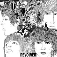 Classic album. Classic album art.  The Beatles - Revolver    #TheBeatles #Revolver #albumart