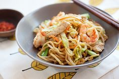 Chinese Chow Mein - quick, delicious and healthy recipe that is MUCH better than takeout