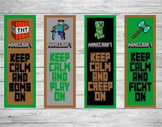 List of synonyms and antonyms of the word minecraft bookmarks for Minecraft bookmark template