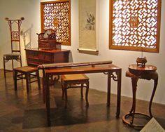 Ming Furniture Exhibit - Shanghai Museum