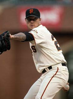 San Francisco Giants starting pitcher Jake Peavy delivers against the Colorado Rockies in the first inning of a Major League Baseball game at AT&T Park in San Francisco, Monday, Aug. 25, 2014. (D. Ross Cameron/Bay Area News Group)