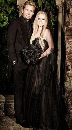 Avril Lavigne And Chad Kroeger Wedding <3