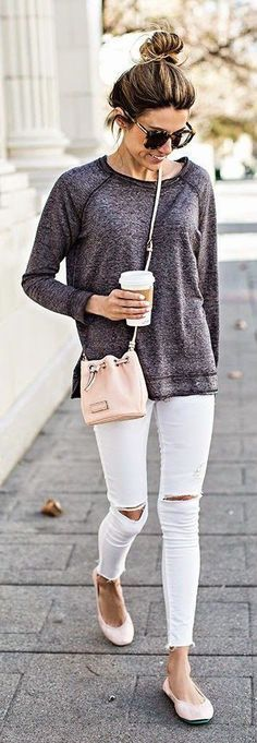 casual street style for fall
