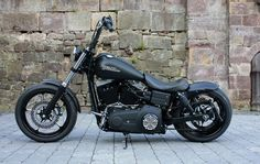 HD street bob. This is the bike I would kill for.