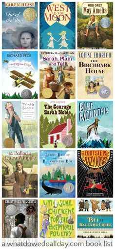 Great books for kids who like Little House on the Prairie