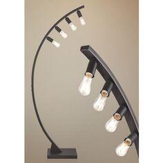 Franklin Iron Works™ Arcos Bronze Arch Floor Lamp