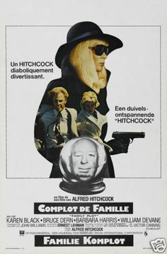 Family plot Alfred Hitchcock vintage movie poster