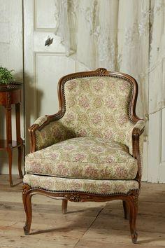 アンティーク アームソファ(ローズタピスリー)A French Antique Sofa