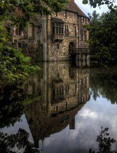 Vischering Castle, Germany photo via erica