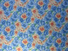 Cotton Quilting Fabric Floral Cotton Fabric by TheFabricScore www.thefabricscore.com #thefabricscore #sewing