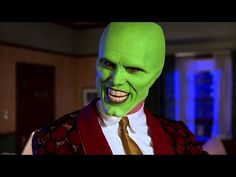 The Mask jim carrey makeup tutorial - YouTube