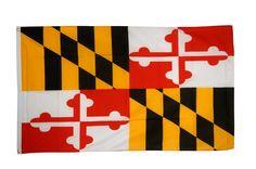 Drapeau USA US Maryland - 90 x 150 cm - maison-des-drapeaux.com